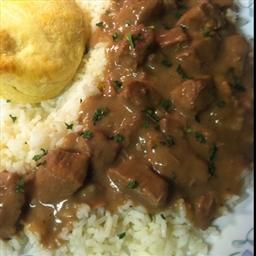 Crockpot Beef tips