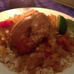 Crockpot Home-Style Jamaican Chicken