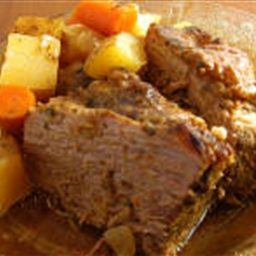 Crockpot Pot Roast Dinner