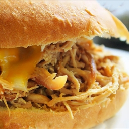 Crockpot Teriyaki Chicken Sandwiches