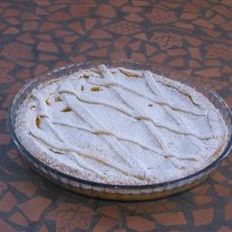 Crostata con Crema di pesche