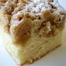 Crumb Top Butter Cake
