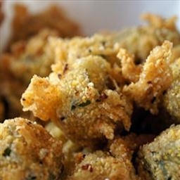 Crunchy Baked Okra