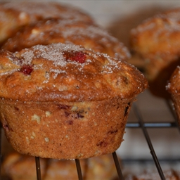 Crunchy Oat and Cranberry Muffins - Gluten Free
