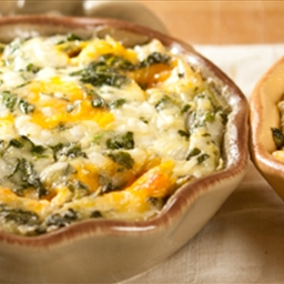 ... Course Main Dish Casseroles Crustless Spinach and Cheese Quiche