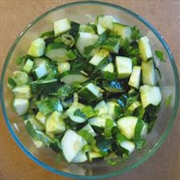 Cucumber Mint Salad Pure Proactive Level One