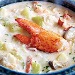 Dad's Delicious Seafood Chowder