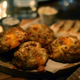 David LeFevre's Bacon Cheddar Buttermilk Biscuits