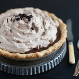 Decadent Chocolate Espresso Pie