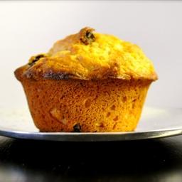 Delightful Orange Raisin muffins