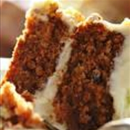 Dessert - Carrot Cake with Cream Cheese Frosting