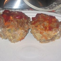 "Diner Meat Loaf ""muffins"" (6 Points)"