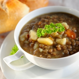 Di's Authentic Greek Lentil Soup (low Cal, Low Fat)