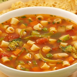 Ditalini Vegetable Soup