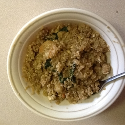 Don's Quinoa Shrimp and Kale Fried Rice