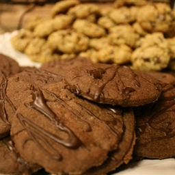 Double Chocolate Sugar Cookies