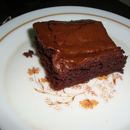 Double Fudge Brownies (using Recipe in a Jar)