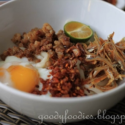Dry Chilli Pan Mee Noodles 辣椒板麺
