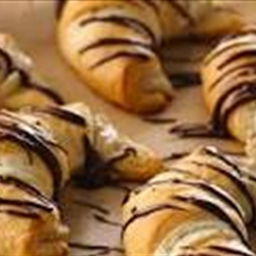 Ashley's Easy Chocolate Croissants