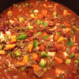 Easy Chorizo Bison Chili