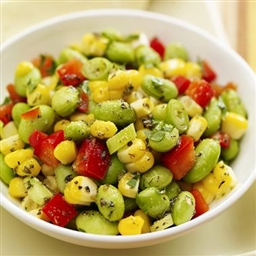 Edamame and Corn Salad (cold)