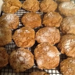 Eggless Pumpkin Spice Cookies