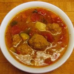 El Chico Mexican Restaurant Albondigas (Meatball Soup)