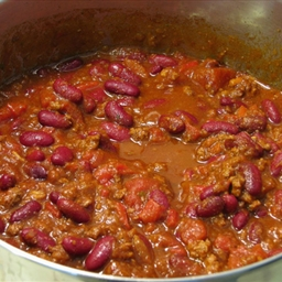 Emma Peel's Chili con Carne (Beef Chili with Beans)