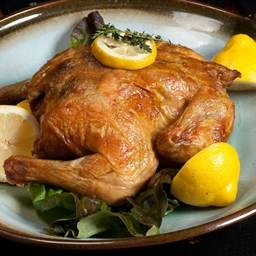 Fast Roast Chicken with Lemon & Herbs