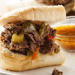 Favorite Slow Cooker Italian Beef Sandwiches