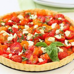 Favorite Tomato-Basil Tart