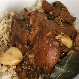 Filipino adobo-style Chicken