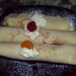 Filled Desert Crepes