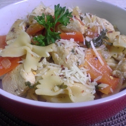 Firecracker Pepper & Chicken Pasta