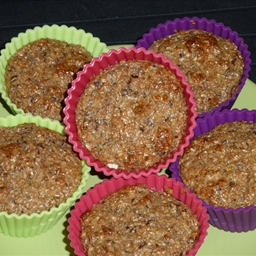 Flaxseed low carb muffins