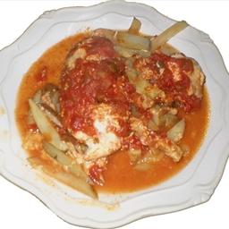Foil-pack Taco Chicken Dinner