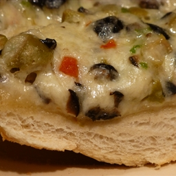 French Bread with cheesy topping