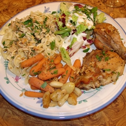 French Chicken with herbs