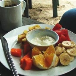 Fresh Fruit and Yogurt Delight