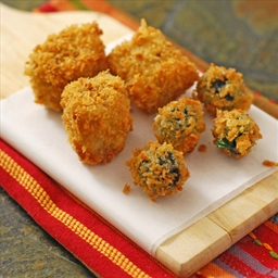 Fried Stuffed Olives