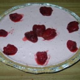 Frosty Strawberry Cream Pie