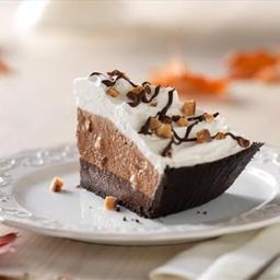 Fudge-Bottom Candy Crunch Pie