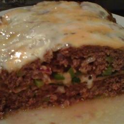Garden Stuffed Meatloaf