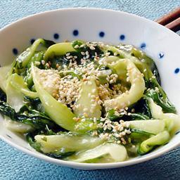 Garlic Ginger Bok Choy