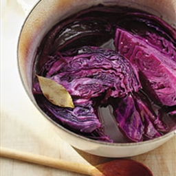 Ginger-Braised Red Cabbage