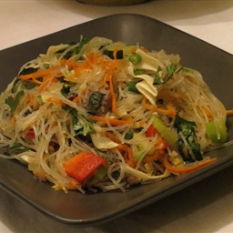 Glass Noodle Salad (Healthy, Oriental)