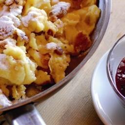 Gluten and dairy free Kaiserschmarren (scratched pancake)