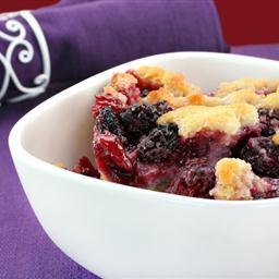 Gluten Free Berry Cobbler