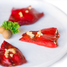 Goat Cheese Stuffed Piquillo Peppers