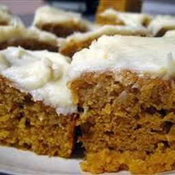 Golden Pumpkin Bars